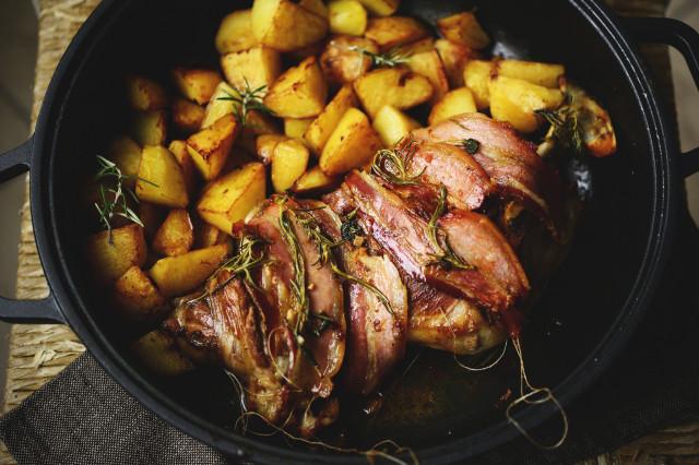 Macelleria CAFFA - Agnello al forno con patate